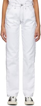 Noon Goons White Throttle Trousers