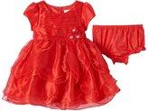 Nannette Baby Girl Tiered Petal Dress