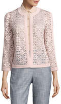 Kasper Suits Flyaway Lace Jacket