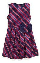 Tommy Hilfiger Little Girl's Plaid Pleated Dress