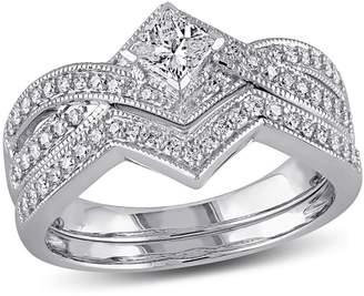 Concerto 0.625CT Diamond 14K White Gold Bridal Set