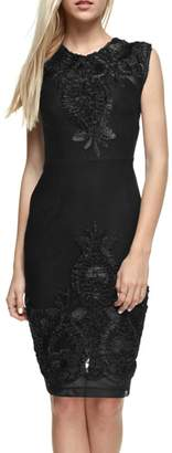 The Clothing Co Victorian Embroidered Lbd