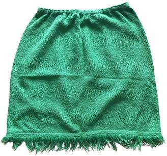 Prada Green Sponge Skirt for Women