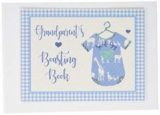 White Cotton Cards Grandparent's Boasting Book Photo Album Blue Vest (BV2T)