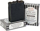 Shea Terra Autenthic African Black Soap - Moisture - Acne Treatment 4 oz