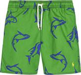 Ralph Lauren Captiva cotton swim shorts 2-7 years