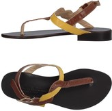 Cantarelli Toe strap sandals - Item 11375039