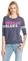 Chaser Women's Monday Blues Graphic Sweatshirt