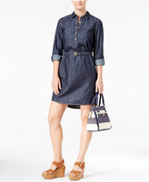 Tommy Hilfiger Belted Denim Shirtdress