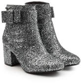 Karl Lagerfeld Glitter Ankle Boots