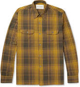 Our Legacy - Checked Cotton-flannel Shirt