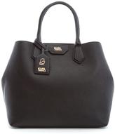 Karl Lagerfeld Women's K/Grainy Shopper Bag Black