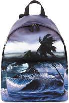 Givenchy Printed Timeless Hawaii Print Backpack