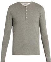 Paul Smith Long-sleeved Jersey Henley Pyjama Top