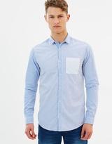 Scotch & Soda Mixed Stripe LS Shirt
