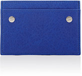 Balenciaga Men's Arena Classic Card Case-BLUE