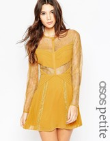 Asos Mini Lace Skater with Cut Outs