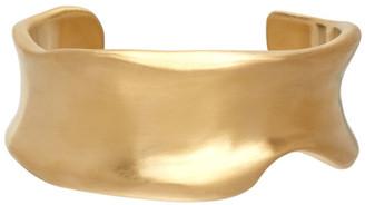 1064 STUDIO Gold Shape of Water 35B Bracelet