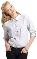 """Patterson J. Kincaid Thomas"""" Baby Stripe Fitted Button Down Shirt"""