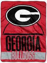 NCAA Georgia Bulldogs Silk-Touch Throw Blanket