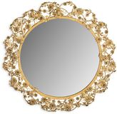 Safavieh Flora Mirror in Antique Brass