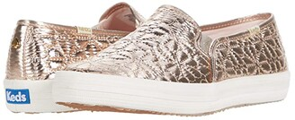 Keds x kate spade new york Double Decker Quilted (Champagne Quilted Nylon) Women's Shoes