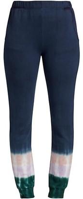 Monrow Circular Tie-Dye Sweatpants