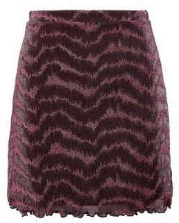 Dorothy Perkins Womens Lola Skye Pink Glitter Mini Skirt, Pink