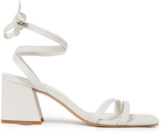 Iris & Ink Lily Lace-up Leather Sandals