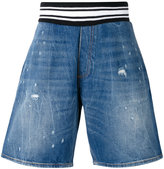 Givenchy distressed denim shorts - men - Cotton - 29