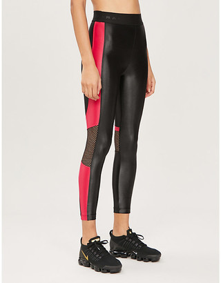 Koral Emblem Infinity high-rise stretch-jersey leggings
