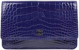 Chanel Purple Exotic leathers Handbags