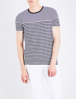 HUGO BOSS Striped cotton T-shirt