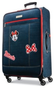 "American Tourister Minnie Mouse Denim Krush 28"" Spinner"