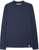 Norse Projects Harald Flame Navy Cotton Top