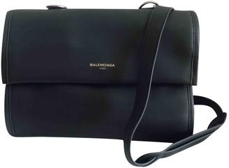 Balenciaga Tool Satchel Grey Leather Handbags