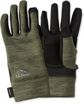 L.L. Bean Men's Multisport Power Stretch Touch Gloves, Print