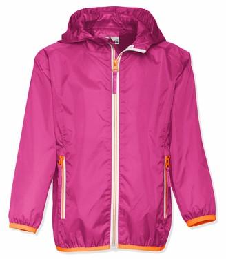 Playshoes Girl's Regenjacke faltbar Raincoat
