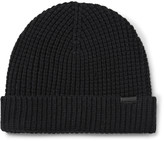 Burberry - Waffle-knit Wool-blend Beanie