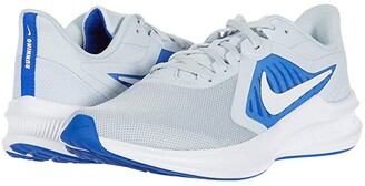 Nike Downshifter 10 (Pure Platinum/White/Hyper Royal) Men's Shoes