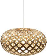 Amonson Lighting Replica Hima Wood Pendant Light, Small