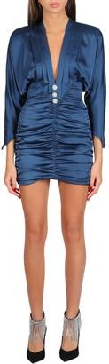 Nineminutes Draped Short Dress