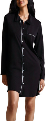 Skin Cecilia Organic Cotton Jersey Sleepshirt