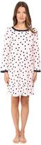 Kate Spade Packaged Brushed Jersey Sleepshirt w/ Eyemask Women's Pajama