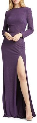 Mac Duggal Sparkle Sheath Gown