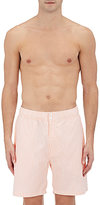 Saturdays NYC Men's Trent Striped Swim Trunks
