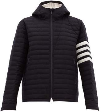 Thom Browne Quilted Wool Twill Jacket - Mens - Navy