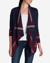 Eddie Bauer Women's Nordic Lights Cardigan Sweater