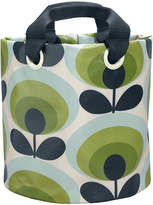 Orla Kiely 70s Flower Fabric Plant Bag - Apple - Medium