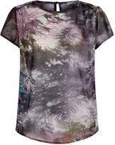 Yumi Maple Leaf Print Top